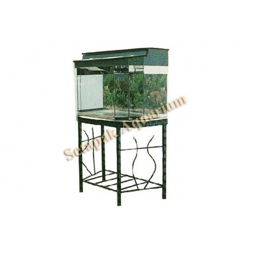 Aquarium metal stand 06 aquarium metal stand malaysia for Metal fish tank stand