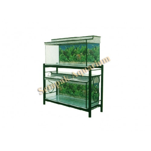 Aquarium stand metal aqueon forge metal aquarium stands for Metal fish tank stand