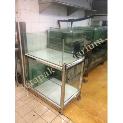 Stainless Steel Aquarium Stand 03