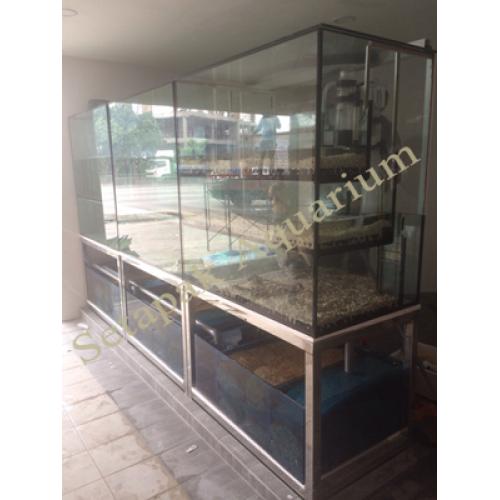 Stainless Steel Aquarium Stand 04
